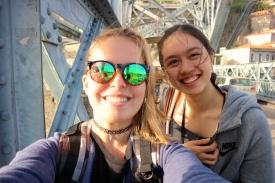 bridge-selfie :D
